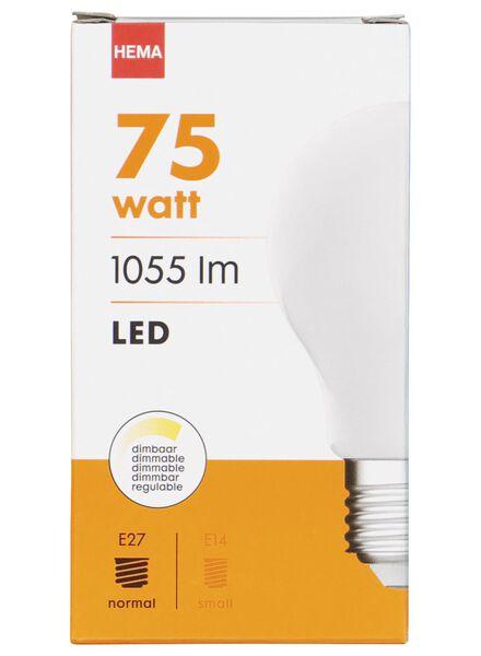 LED-Birne, 75 W, 1055 lm, matt - 20020013 - HEMA
