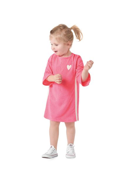 children's dress bright pink bright pink - 1000006173 - hema