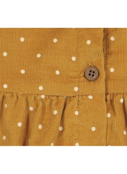 robe bébé jaune jaune - 1000016899 - HEMA