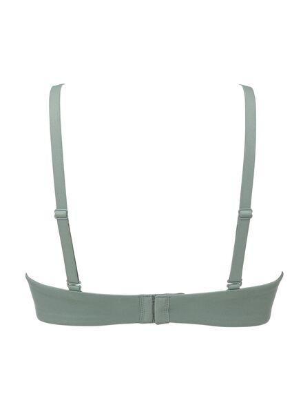 soutien-gorge t-shirt paddé sans armatures vert vert - 1000019366 - HEMA
