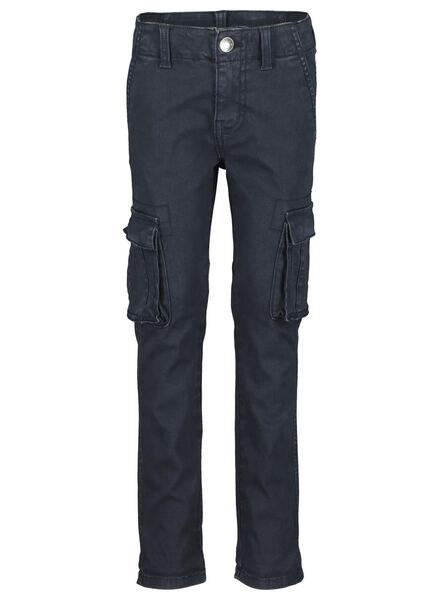 jean enfant modèle skinny bleu foncé bleu foncé - 1000015009 - HEMA