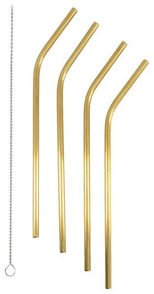 4pailles - inox - doré - 14200364 - HEMA