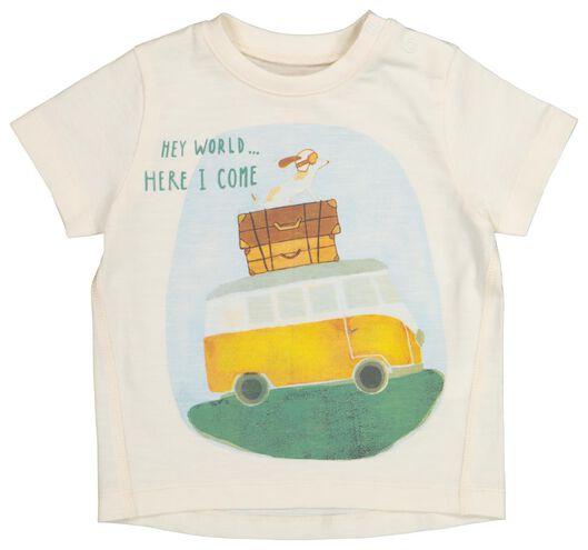 baby T-shirt off-white off-white - 1000019713 - hema
