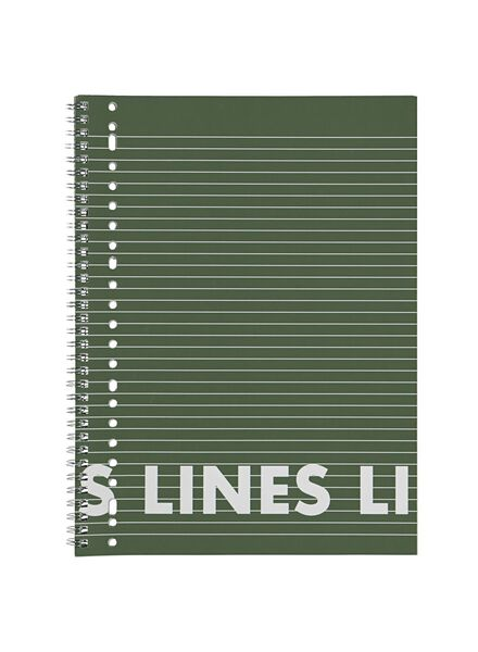 3 Collegeblöcke DIN A4, liniert - 14101643 - HEMA