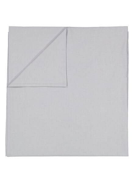 sheet - 200 x 255 - soft cotton - light grey - 5100023 - hema