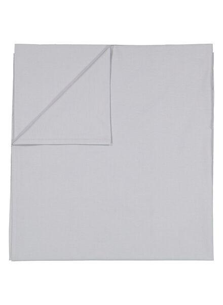 drap - 200 x 255 - coton doux - gris clair - 5100023 - HEMA