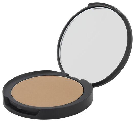 mattifying face powder 25 golden caramel - 11290155 - HEMA