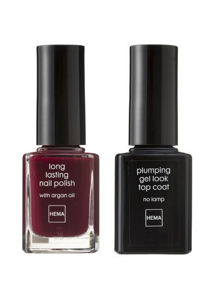nail polish set gel look - 11240334 - hema