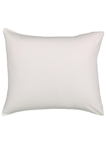 2 pillowcases 60x70 flannel - white - 5100011 - hema