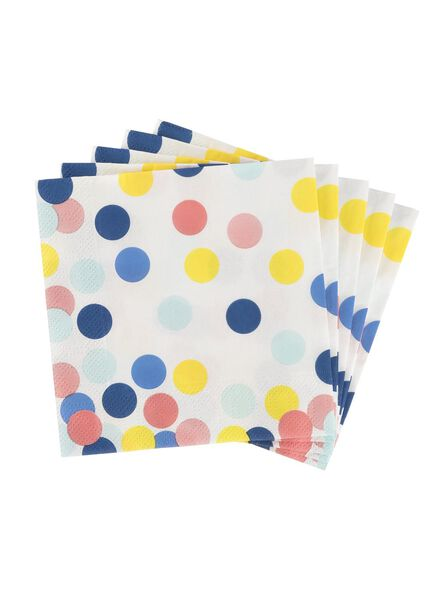 20-pack napkins 24 x 24 cm - 14230064 - hema
