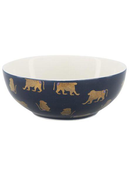 dish - 15 cm - blue with monkey - 9602091 - hema