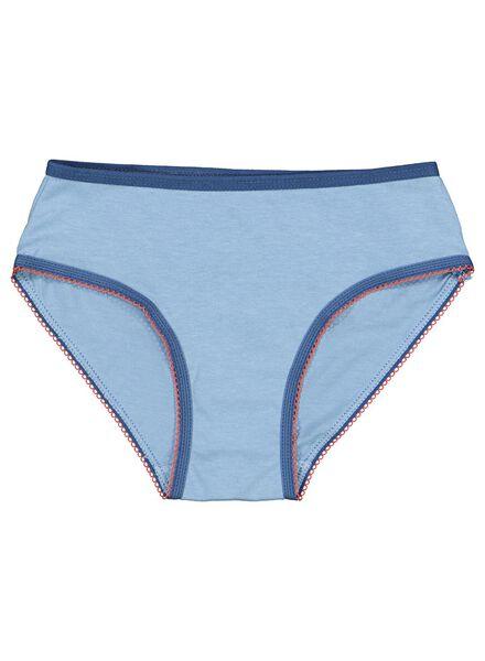 4-pack children's briefs blue blue - 1000014601 - hema