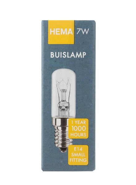Glühlampe, 7 W, 21 lm, Birnenlampe, klar - 20001127 - HEMA