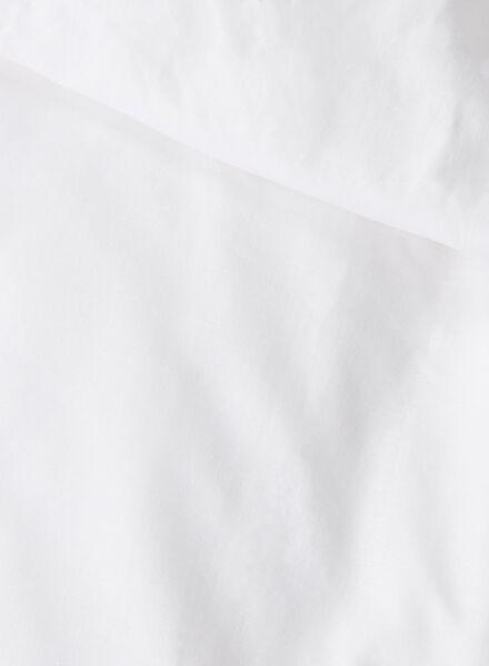 housse de couette-coton doux-200x200cm-blanc blanc 200 x 200 - 5700049 - HEMA