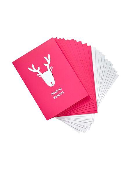10er-Pack Weihnachtskarten - 25320106 - HEMA
