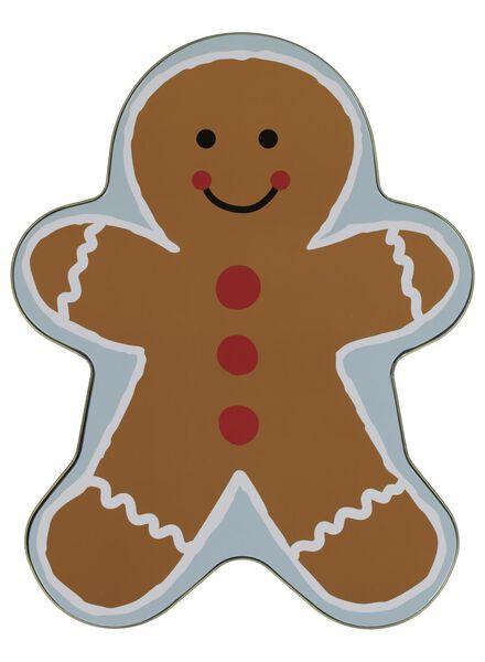 cookie tin gingerbread man - 60900365 - hema