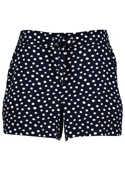Damen-Shorts dunkelblau dunkelblau - 1000014318 - HEMA