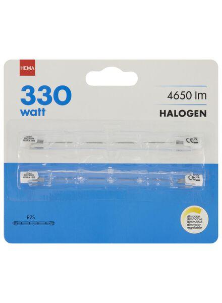 2 linear halogen lamps 330W - 4650 lumen - bright - 20020052 - hema