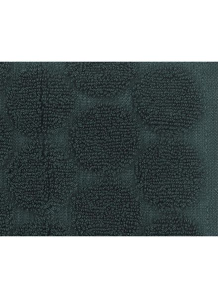 towel - 50 x 100 cm - heavy quality - dark green dot dark green towel 50 x 100 - 5220017 - hema