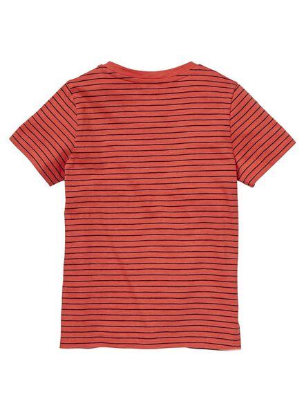 Kinder-T-Shirt rot rot - 1000012718 - HEMA