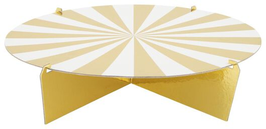 présentoir 1 niveau - 30 cm - doré - 14230190 - HEMA