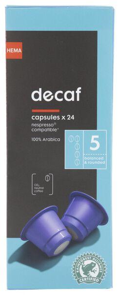 24-Pack Kaffeekapseln entkoffeiniert - 17180009 - HEMA