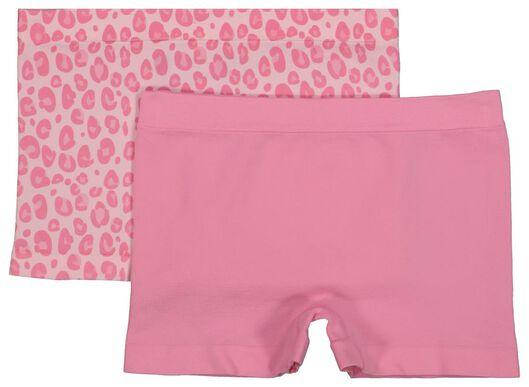 2er-Pack Kinder-Boxershorts rosa rosa - 1000018108 - HEMA