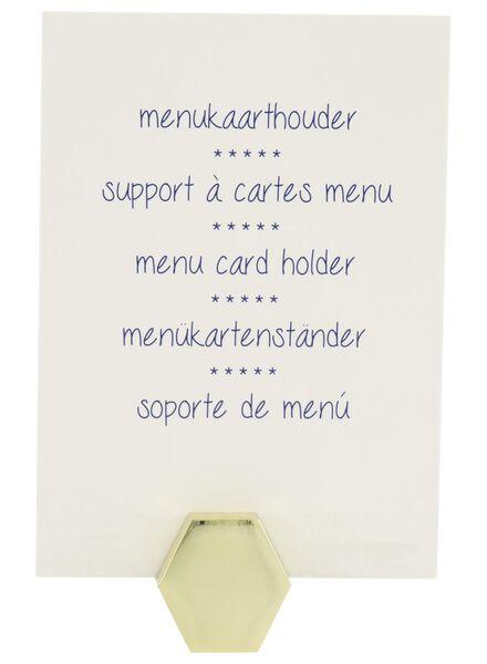 Menükartenhalter mit 4 Karten - 80810300 - HEMA