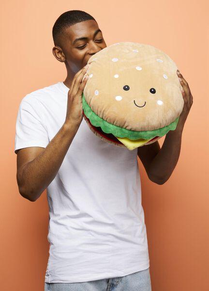 peluche hamburger Ø35cm - 14590496 - HEMA