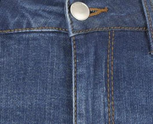 jean femme - modèle skinny bleu moyen bleu moyen - 1000018243 - HEMA
