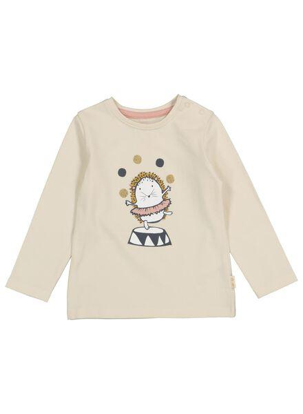 t-shirt bébé blanc cassé blanc cassé - 1000016889 - HEMA