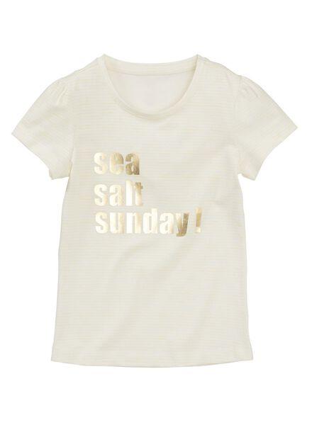 children's T-shirt yellow yellow - 1000006055 - hema