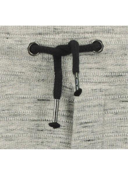 pantalon sweat enfant gris chiné gris chiné - 1000016746 - HEMA