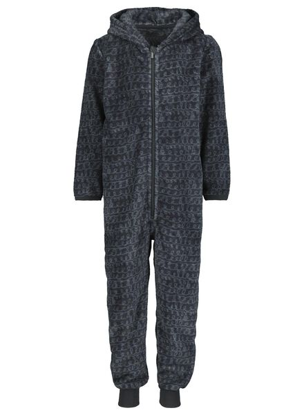 combinaison enfant ours anthracite anthracite - 1000014620 - HEMA