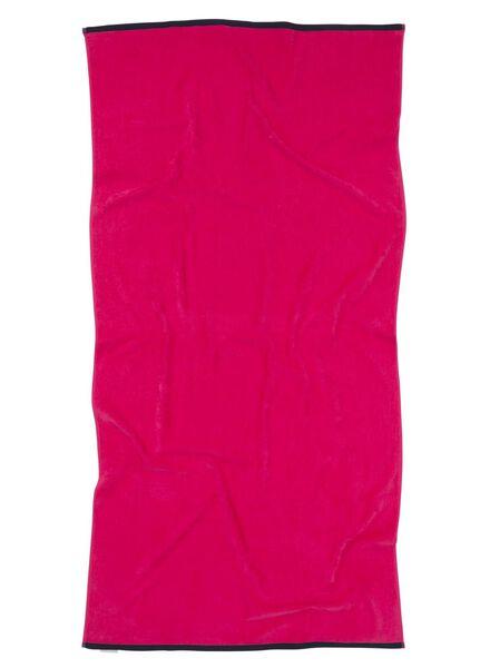 serviette de plage velours 90 x 180 cm - 5210059 - HEMA