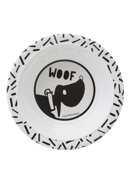 small dish melamine dog Takkie Ø 16 cm - 80630521 - hema