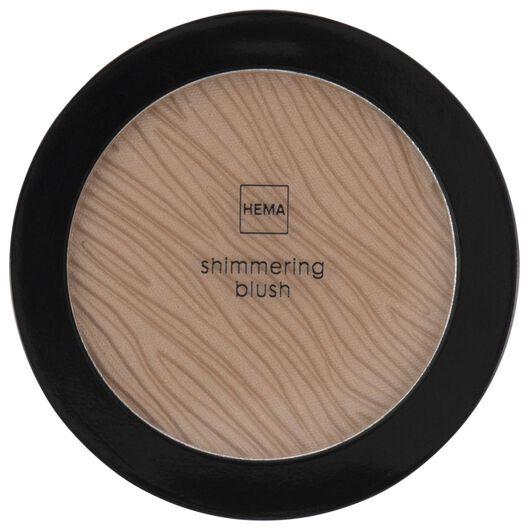 HEMA Shimmering Blush 39 Brilliant Brown (bruin)
