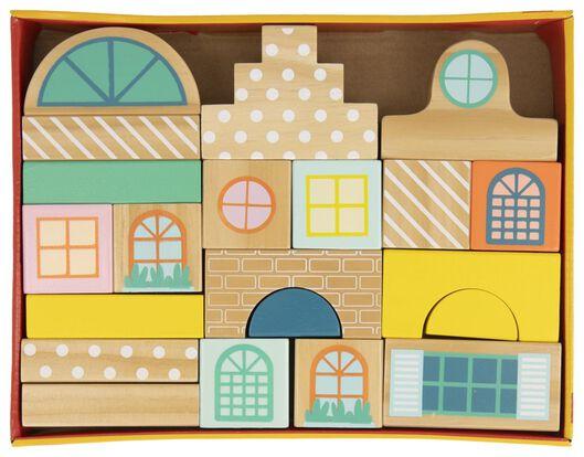 Stapelhäuser, Holz - 15130067 - HEMA