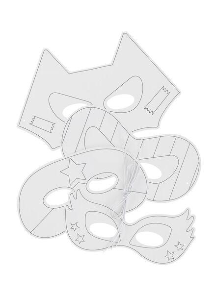 4-pak maskers - 15920156 - HEMA
