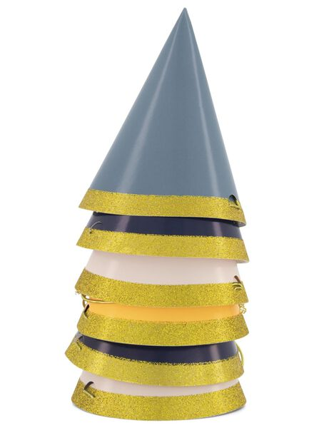 6 paper party hats - 14210080 - hema