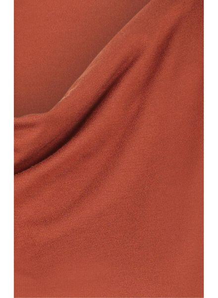 women's top brown brown - 1000017075 - hema