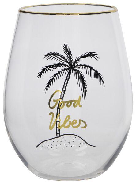 verre 450ml palmier - 61140135 - HEMA