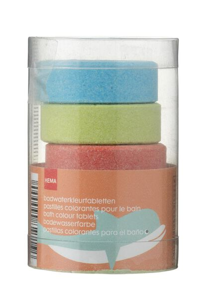 5-pack bathwater colouring tablets - 11342114 - hema