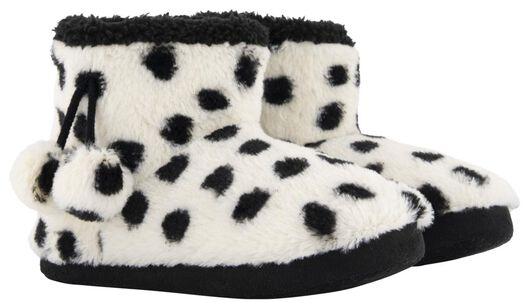children's slippers Dalmatian off-white off-white - 1000020505 - hema