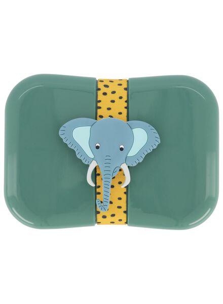 Brotdosen-Gummiband, Elefant, orange - 80610106 - HEMA