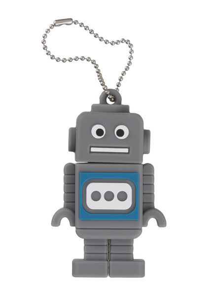 clé USB 8 Go robot - 39500004 - HEMA