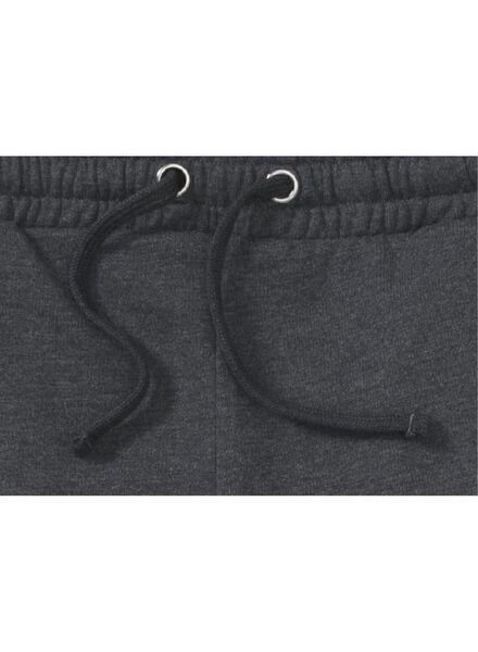 men's sweatpants grey melange grey melange - 1000006093 - hema