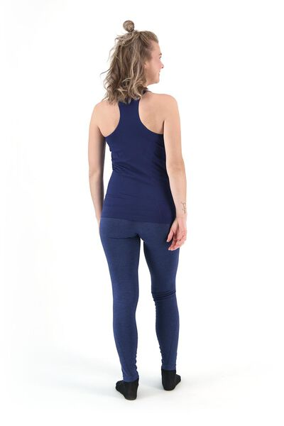 women's sports leggings figure shaping blue blue - 1000019848 - hema