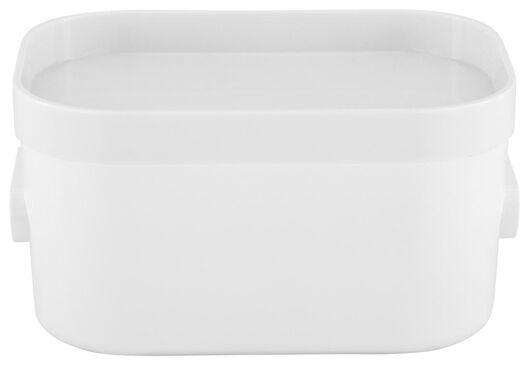 HEMA Couvercle Pour Boîte De Rangement 10x14x1.5 Helsinki Blanc