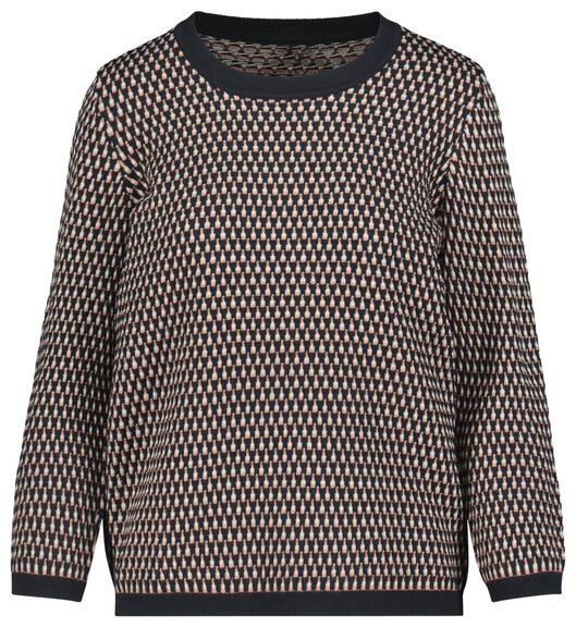 women's sweater dark blue dark blue - 1000019290 - hema